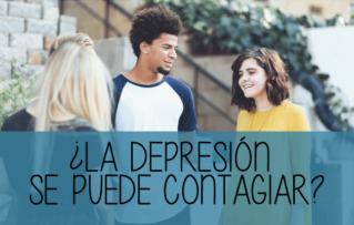 ¿se puede contagiar la depresión?