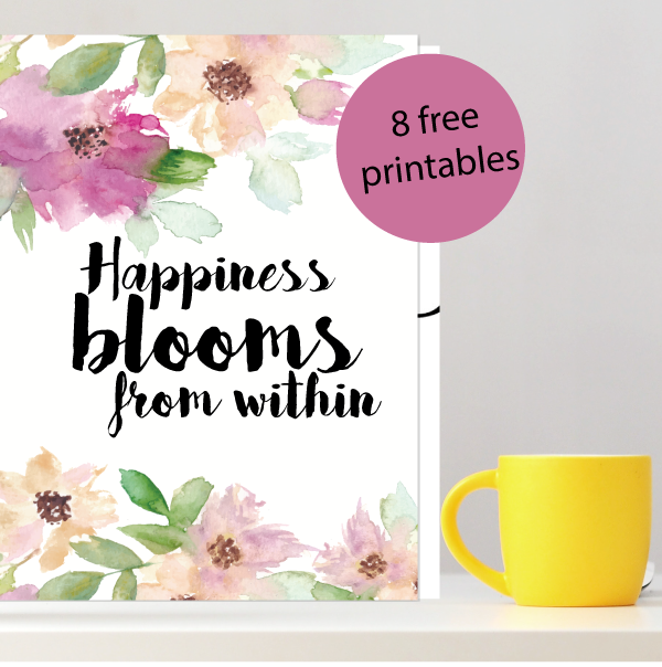 8 Motivational Quotes – Free Printable
