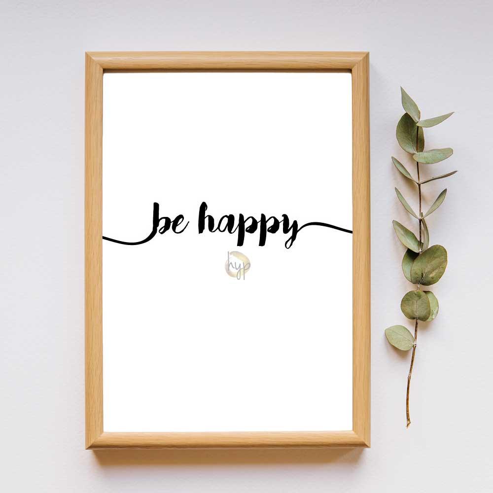 be happy - quote