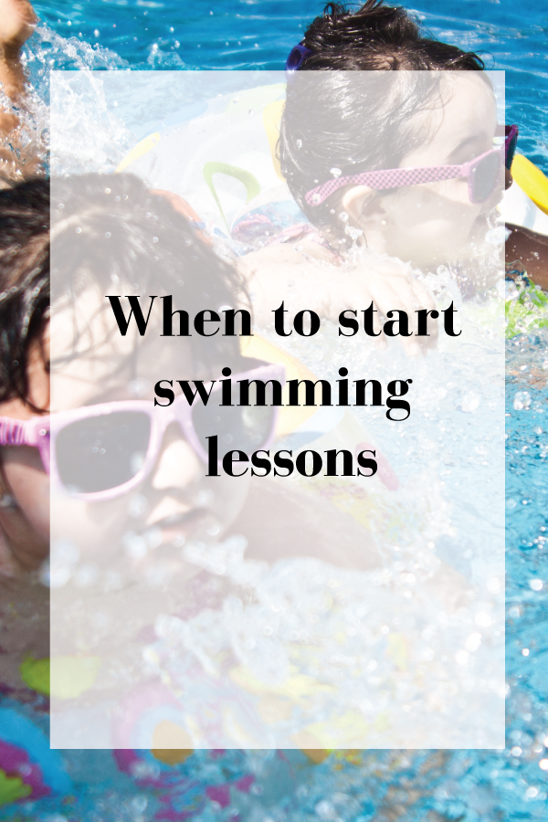Wondering when is the right time to start swimming lessons? should you start swimming lessons before the age one? here is the scoop!