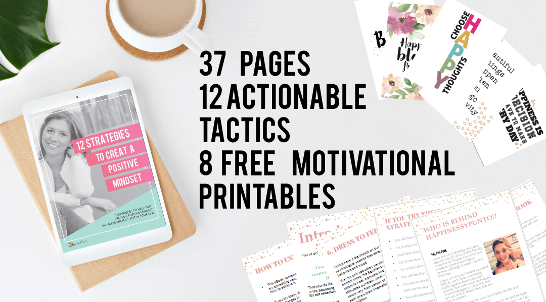 eBook: 12 Strategies to a More Positive Mindset