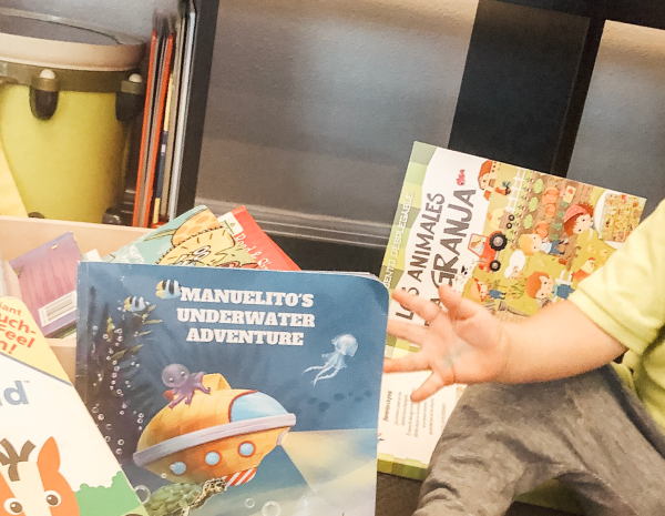 How to read a book to a baby in a bilingual home