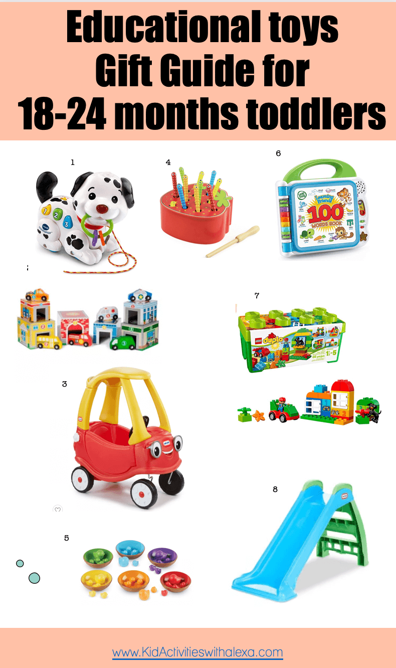 Best Toys For An 18 Months Old Toddler S Playroom Kid Activities With Alexa
