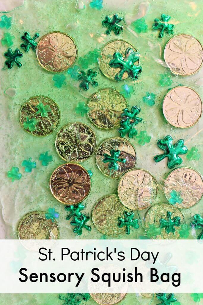 St. Patrick's Day Fine Motor Play