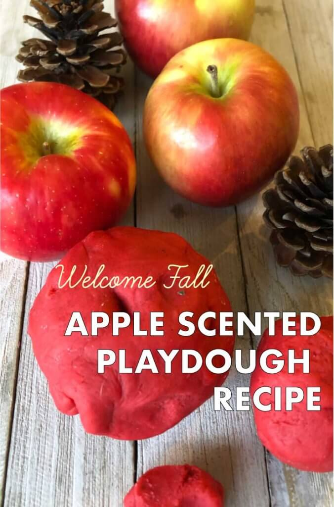 Apple Scented Playdough Recipe To Welcome Fall Kid Activities With Alexa